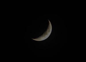 Moon Representing Sleep