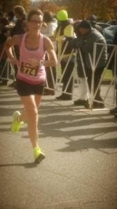 rhonda running marathon