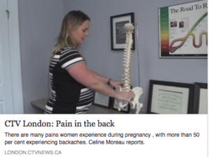 CTV News Low Back Pain Chriropractic Treatment and Pregnancy