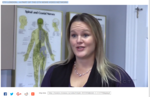"Dr. Michelle on ""Tech Neck"" Video"